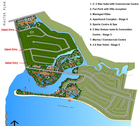 Click to view enlarged version of the masterplan
